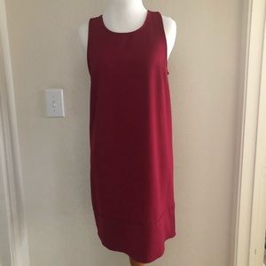 Nordstrom Red Shift Dress with Racerback